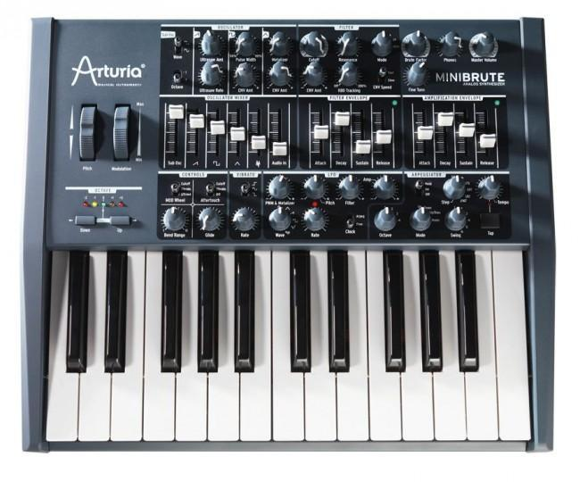 Arturia MiniBrute Analog Synthesizer - Rock and Soul DJ Equipment and Records