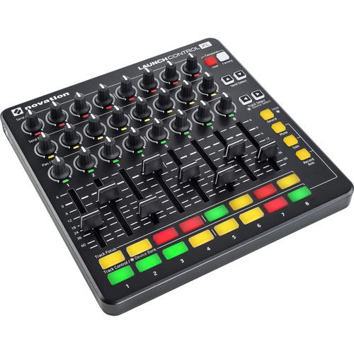 Novation Launch Control XL Controller for Ableton Live (Black) - Rock and Soul DJ Equipment and Records