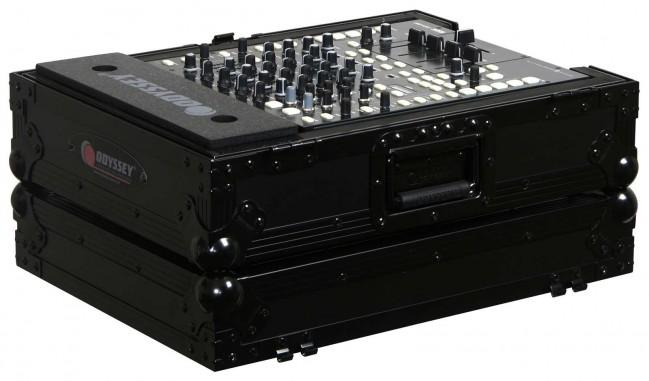 "Odyssey Innovative Designs Flight Zone Black Label Series 12"" DJ Mixer Case - Rock and Soul DJ Equipment and Records"