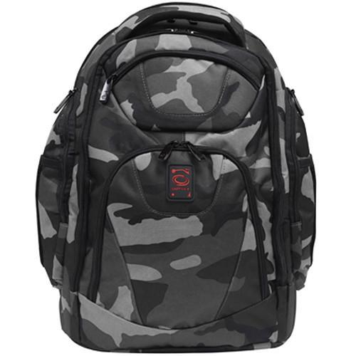 Odyssey Innovative Designs Backtrak XL DJ Gear Backpack (Gray Camouflage) - Rock and Soul DJ Equipment and Records