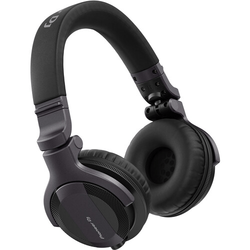 Pioneer DJ HDJ-CUE1 Closed-Back DJ Headphones (Dark Silver) - Rock and Soul DJ Equipment and Records
