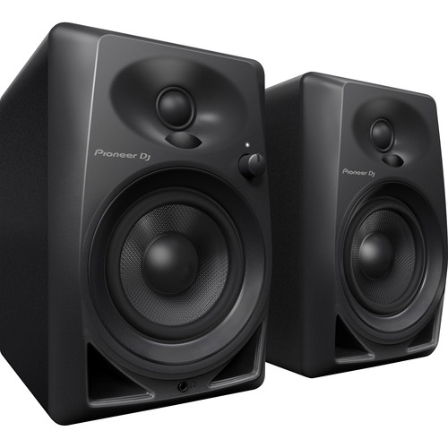 "Pioneer DM-40 4"" Desktop Monitor Speakers (pair) - Rock and Soul DJ Equipment and Records"