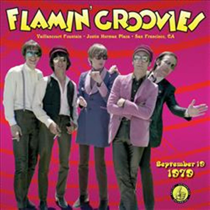 Flamin' Groovies-Live From The Vaillancourt Fountains: 9/19/79-LP - Rock and Soul DJ Equipment and Records