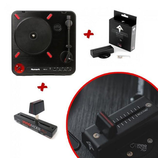 Numark PT01 Scratch with Pre-Installed Innofader and Dock - Rock and Soul DJ Equipment and Records