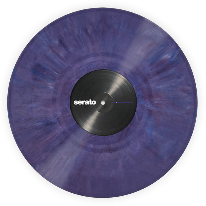 Serato Performance Series Official Control Vinyl 2xLP in Purple - Rock and Soul DJ Equipment and Records