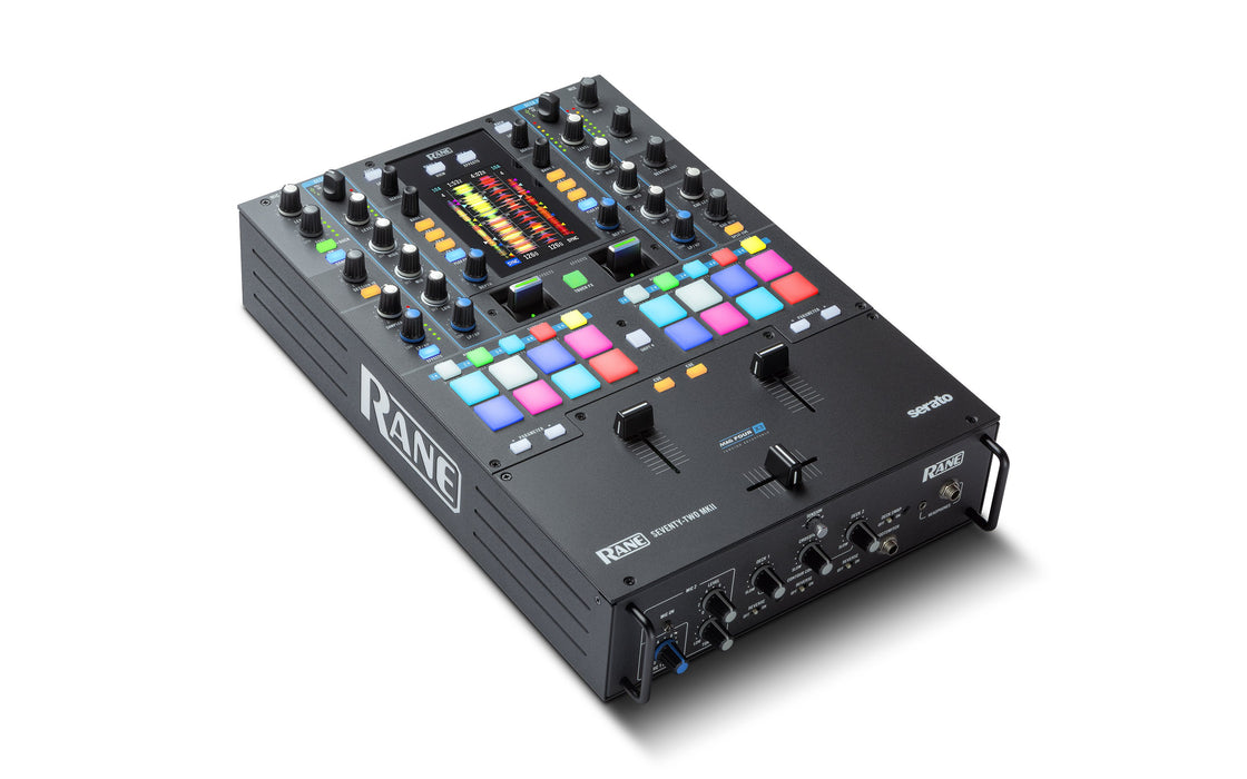 Rane DJ Seventy Two MKII Premium 2-Channel Mixer with Multi-Touch Screen - Rock and Soul DJ Equipment and Records