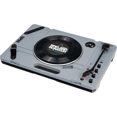 Reloop SPiN Portable Turntable + Jesse Dean Contactless Fader Bundle