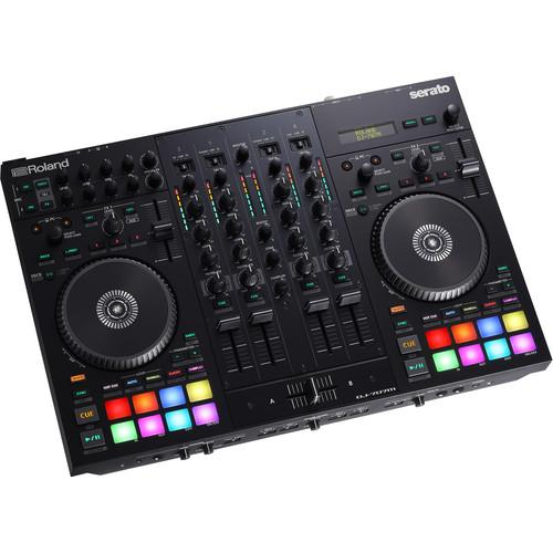 Roland DJ-707M 4-Channel DJ Controller for Serato DJ - Rock and Soul DJ Equipment and Records