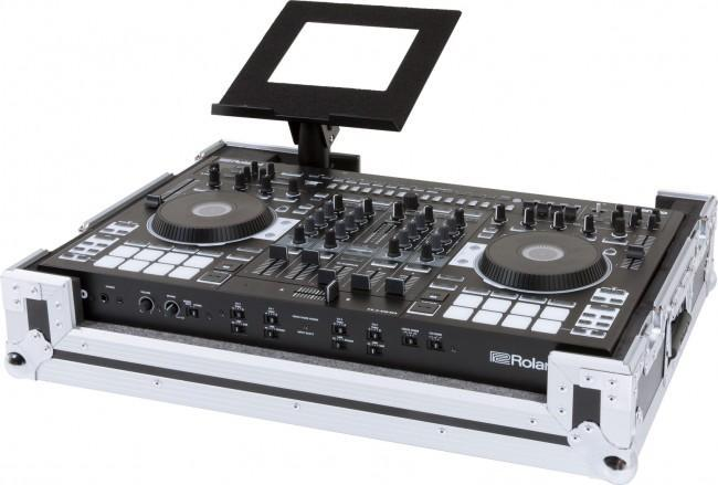 Roland DJ-808 DJ Controller Heavy-Duty Road Case with Wheels - Rock and Soul DJ Equipment and Records