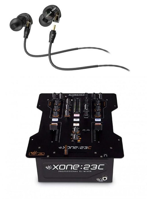 Allen & Heath XONE:23 DJ Mixer with Bonus M6 Pro Mee Audio Earbud