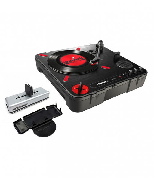Numark PT01 Scratch with Mixfader and Mixfader Dock - Rock and Soul DJ Equipment and Records