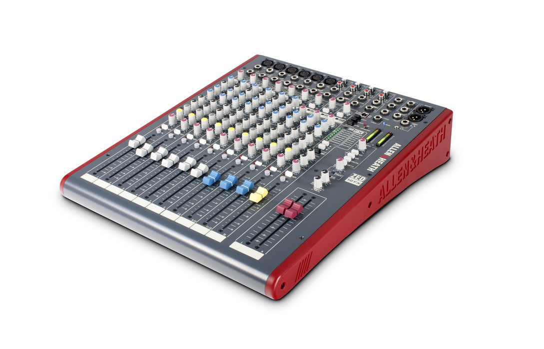 ZED-12FX Multipurpose Mixer with FX for Live Sound and Recording