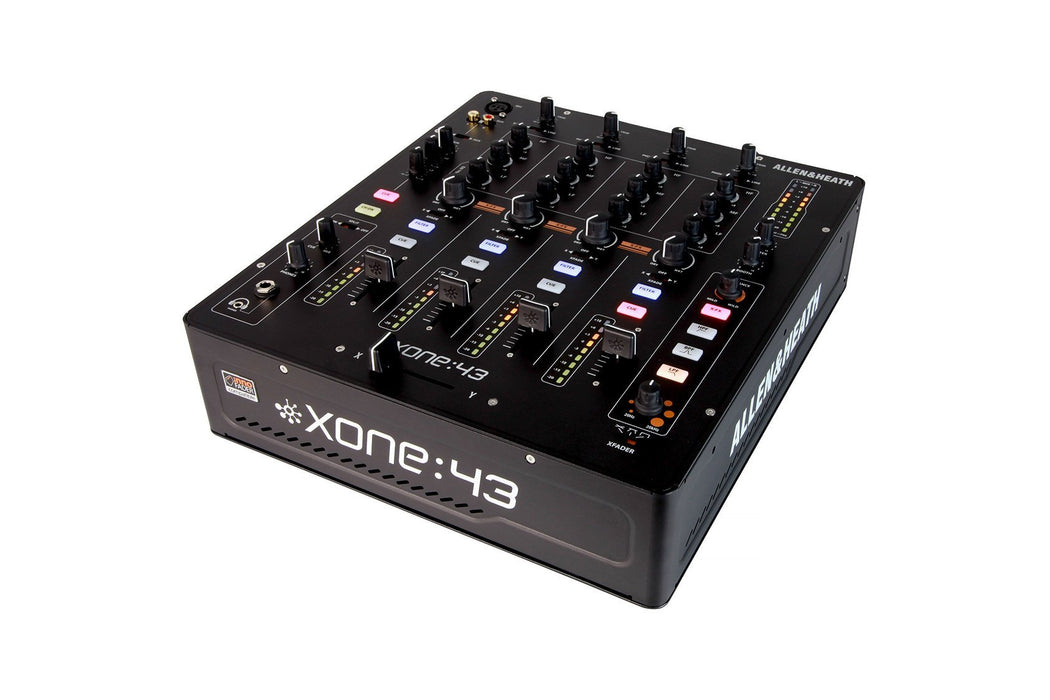 Allen & Heath XONE:43 4 Channel Analog DJ Mixer - Rock and Soul DJ Equipment and Records