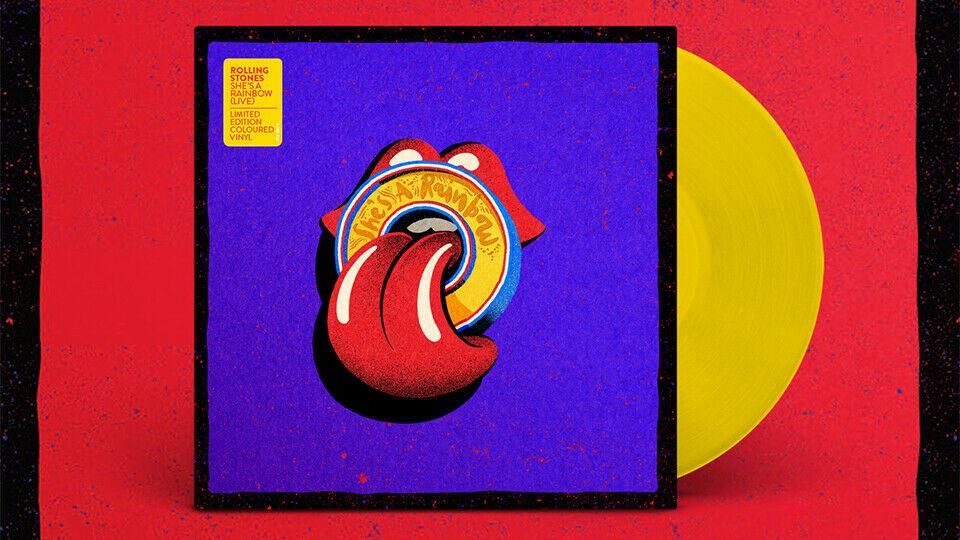 "Rolling Stones, The - She's A Rainbow / Live At U Arena, Paris / 25.10.17 - 10"" Vinyl - Rock and Soul DJ Equipment and Records"