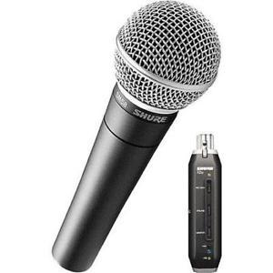Shure SM58-X2U Cardioid Dynamic Microphone with X2U XLR-to-USB Signal Adapter - Rock and Soul DJ Equipment and Records