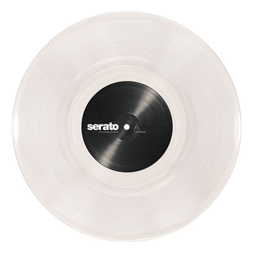 "Serato 10"" Control Vinyl (Pair, Clear) - Rock and Soul DJ Equipment and Records"
