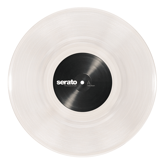 "10"" Serato Standard Colors (Pair) BLACK or CLEAR"