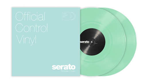 "Serato 10"" Standard Colors (Pair) Glow in the Dark - Rock and Soul DJ Equipment and Records"