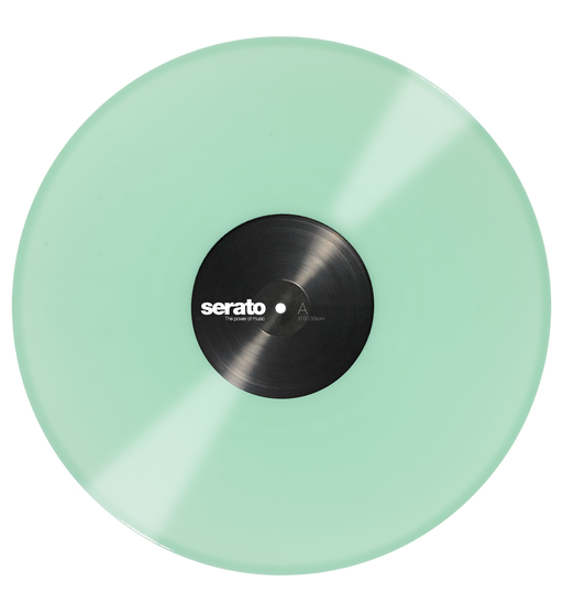 Serato Performance Series Official Control Vinyl 2xLP in Glow in the Dark