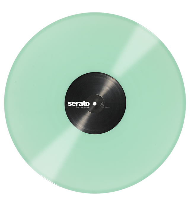 Serato Performance Series Official Control Vinyl 2xLP in Glow in the Dark - Rock and Soul DJ Equipment and Records