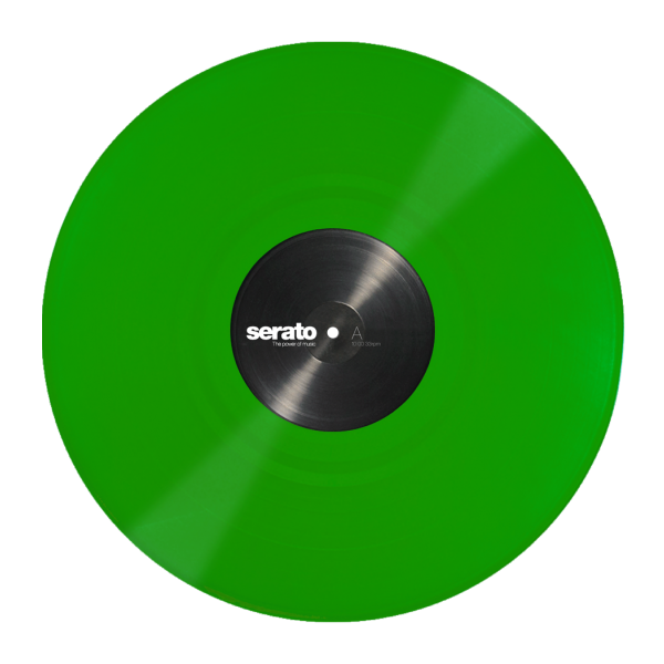 Serato Performance Series Official Control Vinyl 2xLP in Green