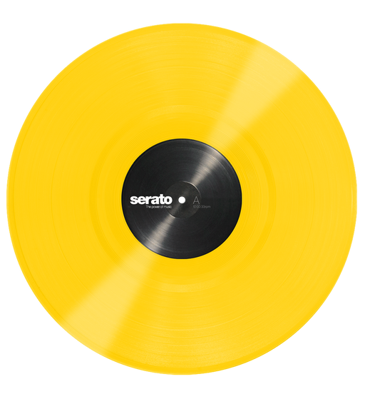 Serato Performance Series Official Control Vinyl 2xLP in Yellow