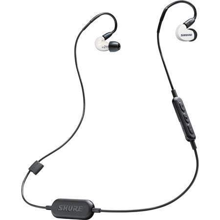 Shure SE215 Bluetooth Wireless Sound Isolating Earphones in White - Rock and Soul DJ Equipment and Records