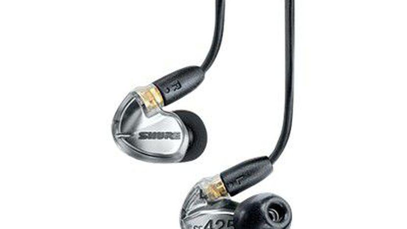 Shure SE425 Sound Isolating Earphones in Metallic Silver - Rock and Soul DJ Equipment and Records