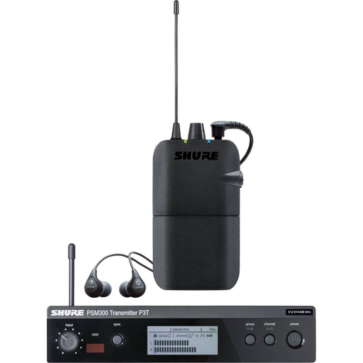 Shure PSM300 Stereo Personal Monitor System w/ SE112 Earphones