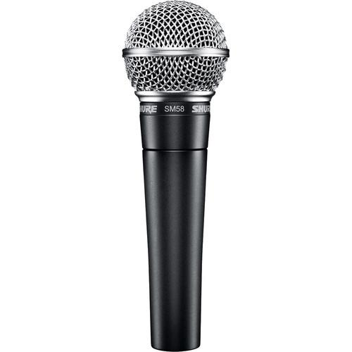 Shure SM58-CN Vocal Microphone - Rock and Soul DJ Equipment and Records