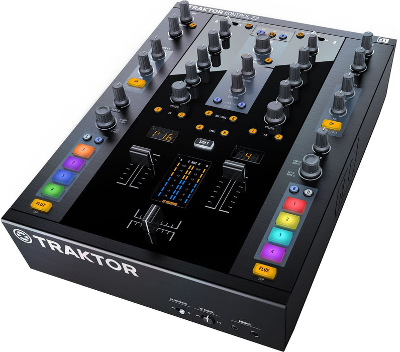 TRAKTOR KONTROL Z2 - 2+2 Channels Control Mixer - Rock and Soul DJ Equipment and Records