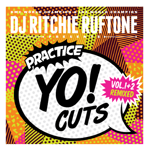 Practice Yo! Cuts Volume 1&2 Remixed - White Vinyl 7""
