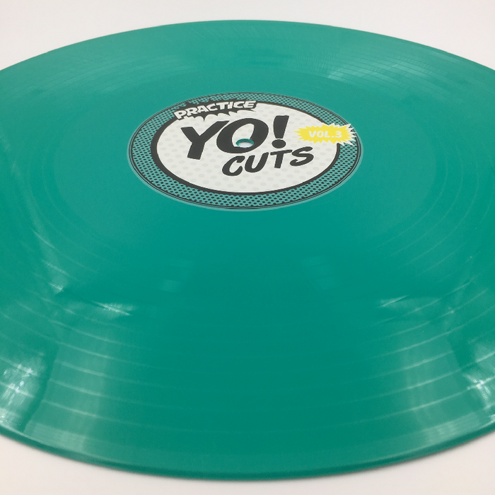 Practice Yo! Cuts Volume 3 - Teal Vinyl