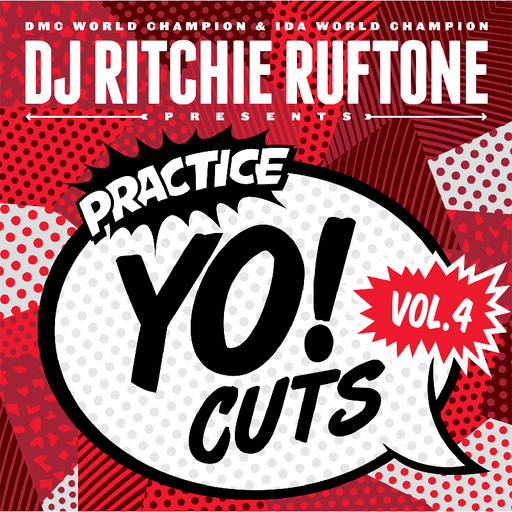 Practice Yo! Cuts Volume 4 - Red Vinyl - Rock and Soul DJ Equipment and Records