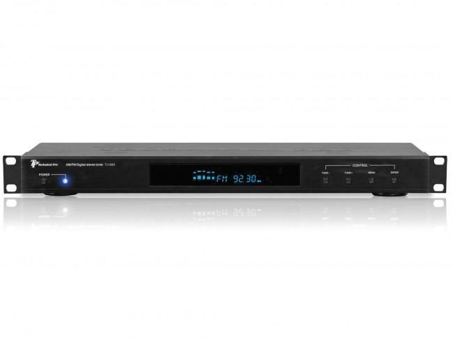 Technical Pro TUB80 1RU AM/FM Digital Tuner - Rock and Soul DJ Equipment and Records