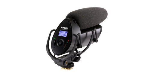 Shure V83F LensHopper Camera-Mount Condenser Microphone with Integrated Flash Recording