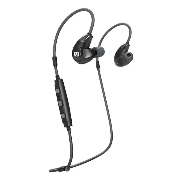 MEE Audio X7 Plus Stereo Bluetooth Wireless Sports In-Ear HD Headphones w/ Memory Wire - Rock and Soul DJ Equipment and Records