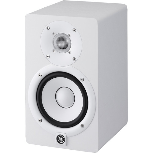 Yamaha HS5 Powered Studio Monitor (Single, White) - Rock and Soul DJ Equipment and Records
