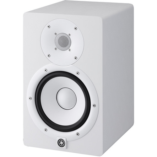 Yamaha HS7 Powered Studio Monitor (Single, White) - Rock and Soul DJ Equipment and Records