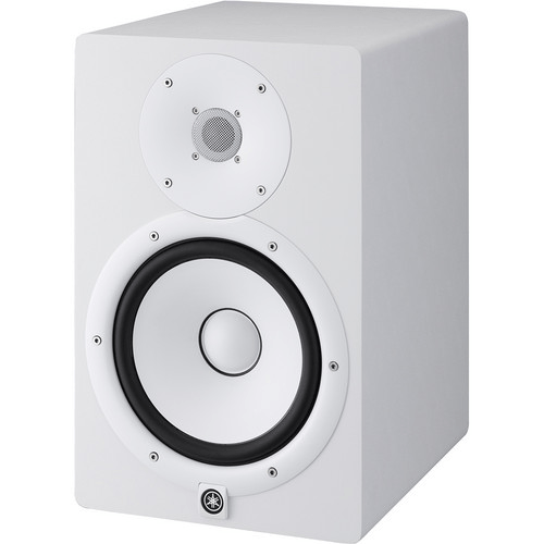 Yamaha HS8 Powered Studio Monitor (Single, White) - Rock and Soul DJ Equipment and Records