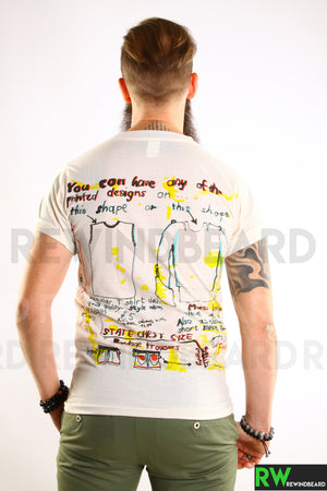 T-shirt Homme Sex Pistols Art Trash Impression Recto/Verso
