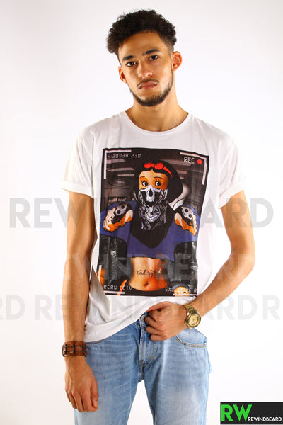 T-shirt Homme Exclusive A Blanche Neige Braquage