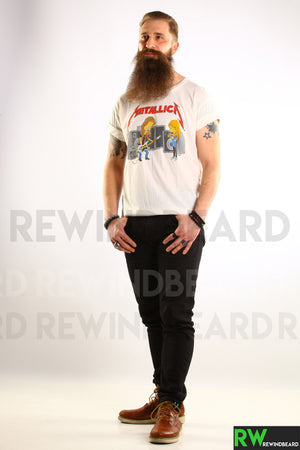T-shirt Homme Metallica Cartoon Style vintage Neuf