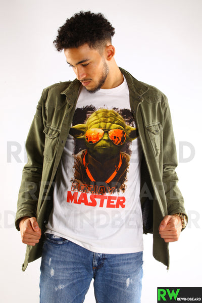 T-shirt Homme Exclusive A Maitre Yoda Dj's Deejay Master