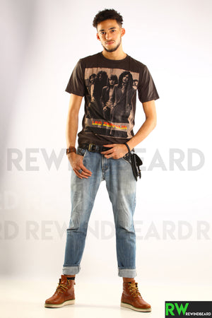 T-shirt Rock Homme Led Zeppelin Vintage Style