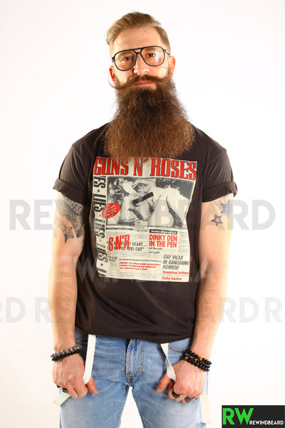 T-shirt Homme Rock Guns N' Roses Magazine Exclusive Vintage Style