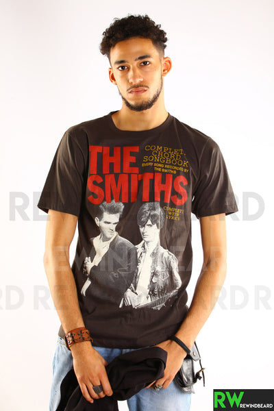 "T-shirt Homme Rock The Smith ""Complete Shord Songbook"" Vintage Style"