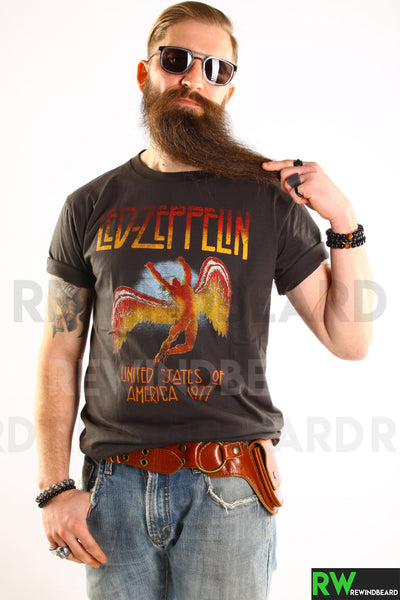 T-shirt Homme Rock  Led Zeppelin United States 1977