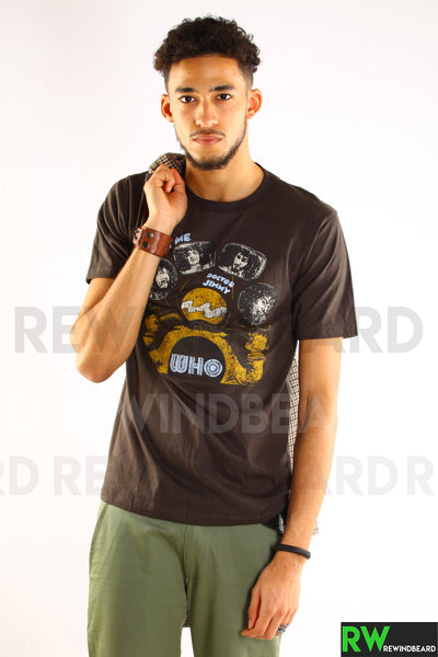 "T-shirt Homme Rock The Who ""The Real Me"" Doctor Jimmy Vintage Style"