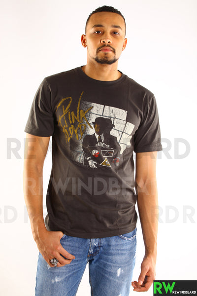 T-shirt Rock Homme Pink Floyd recto/verso Vintage Style